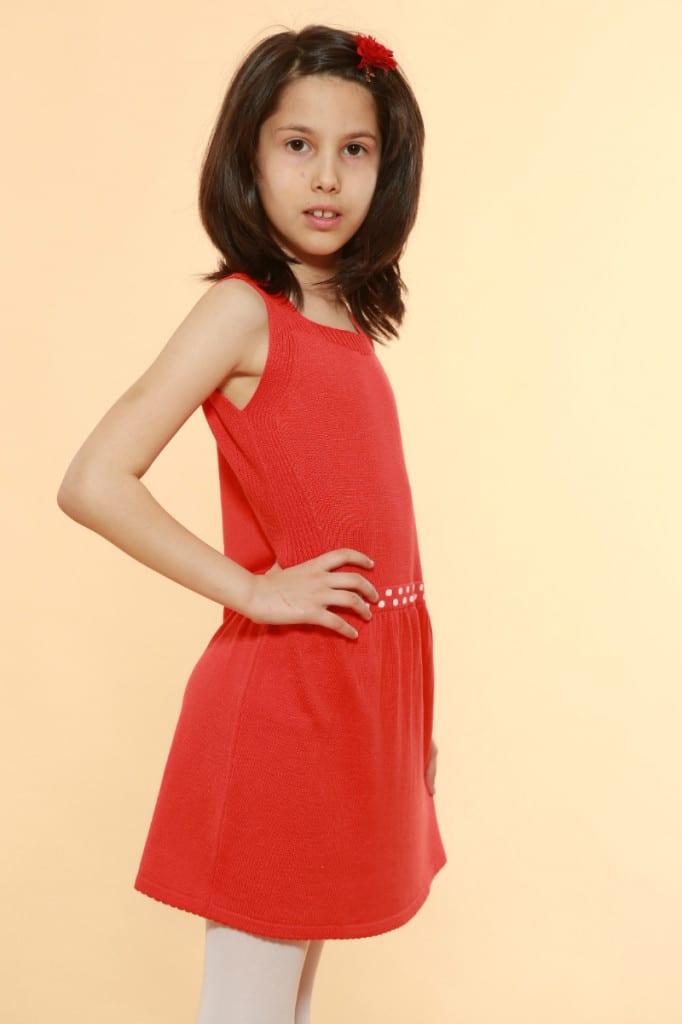 Rochie Roșie Pentru Fete