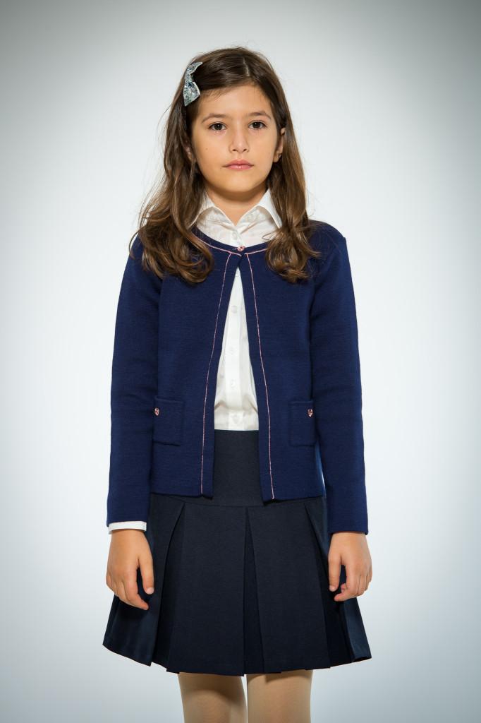 Jachetă Bleumarin Pentru Fete