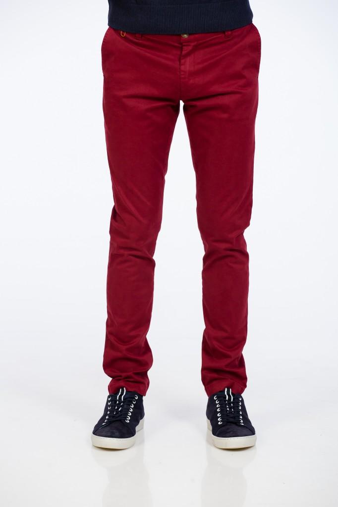 Pantaloni Bordo Slim Fit